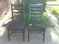 A. Sibau dining chairs. Made in Italy.  Fort Collins, 80525