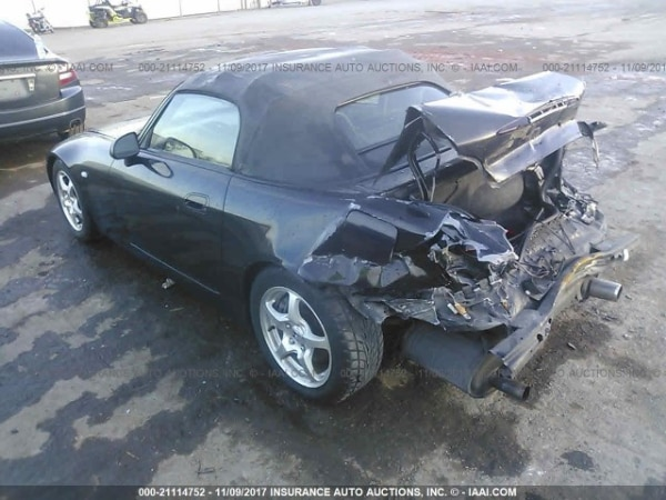 Used For Parts A 2002 Honda S2000 Two Door Convertible 6sd Trans In Dallas Letgo