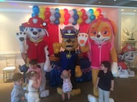Mascot costume rentals and parties Mississauga, L5L 2G5