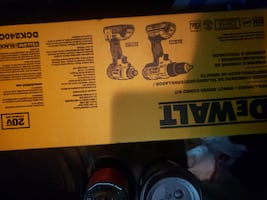 Dewalt drill driver and impact driver paid 230.00 asking 160.00