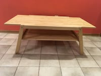 Maple wooden coffee table Toronto, M9C 3S9