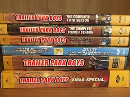 Trailer Park Boys DVDs Set