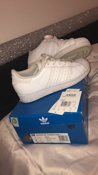 Adidas White Superstar Trainers Size 3 Superstars Manchester