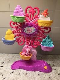 My Little Pony Carousel and Ferris Wheel