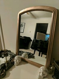 rectangular mirror with rose gold frame Leesburg, 20176
