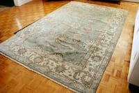 NEW 6'X9' Hand-Knotted WOOL RUG (INDIAN) TORONTO