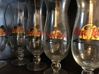 15 Hard Rock Cafe Glasses from all over the world!  Alexandria, 22314