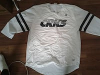 white and black CRKS long-sleeved t-shirt Lethbridge, T1K 1H1
