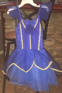 Dress worn one time for a dress rehearsal