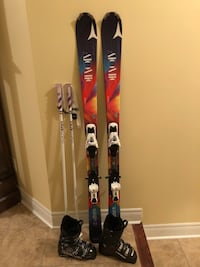 Women's Atomic Affinity Skis and XTE 10 Bindings and Lange Boots Halton Hills, L7G 0A5