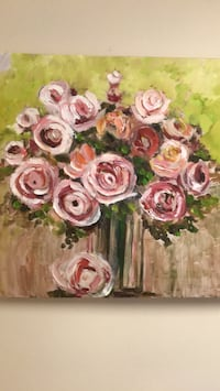 white and pink rose flowers bouquet 잉글우드, 07631