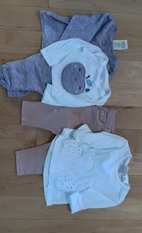 Baby girl outfits 3-6 months Mississauga, L5B 0C5