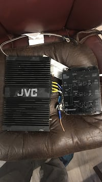 JVC amp and crossover  Bend, 97701