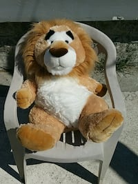 brown and white bear plush toy Vancouver, V5X 2M6
