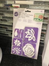 WILTON 6 Piece Cake Stamp Set: Brand New  Toronto, M1S 5B3