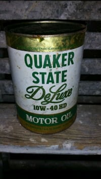 Quaker State Deluxe motor oil can Warwick, 02889