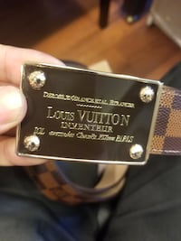 LV belt for men. New  VANCOUVER