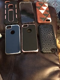 Six black and gray iphone cases McLean, 22102