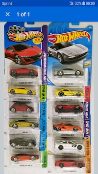 12 hot wheels cars toys Albuquerque, 87108
