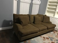 Brown sofa, very comfortable!! Must pick up by 12/24/17.