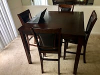 Dining table + 4 chairs  Severn, 21144