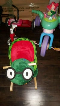 Toddler rocker with music, ariel tricycle, and tri Las Vegas, 89104