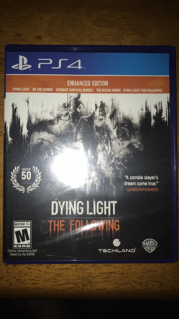 Dying light: Enhanced edition (unopened)