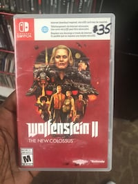 Wolfenstein 2 The New Colossus ..  intendo switch Baltimore, 21217