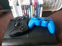 PS3 game console w/2controllers and 15+ games Detroit, 48228