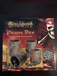 Pirate's of the Caribbean At Worlds End Pirates Dice Cambridge, N1R 7B6