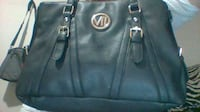 black Michael Kors leather tote bag EDMONTON