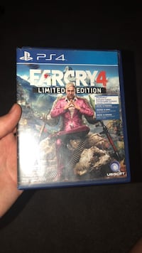 Farcry 4 ps4 game East St. Paul, R2E 1J6
