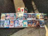 Lots of VHS Tapes Toronto