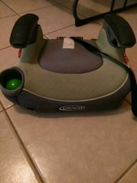 baby's black and gray Graco booster seat Weslaco, 78599
