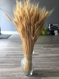 Vase with harvest wheat 多伦多, M5T 2S3