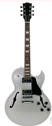 black and white electric guitar Brooklyn, 11220