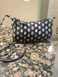 black and white floral leather hobo bag Oakton, 22124