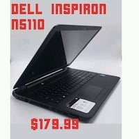 Dell Inspiron N5110 15.4 INCH SCREEN Capitol Heights, 20743