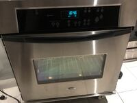 """Used 30""""Whirlpool Stainless steel single oven Garland, 75040"""