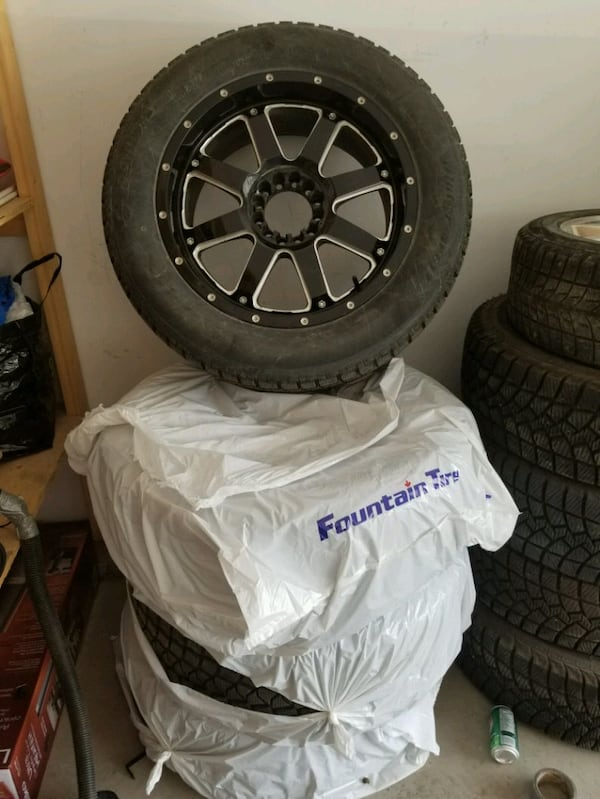 Tires with Rims 4
