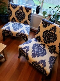 2 Decorative Accent Chairs