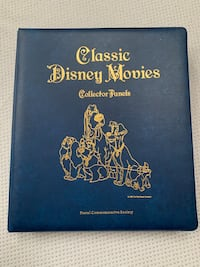 Disney collectible panels & movie stamps