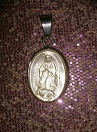 Sterling Silver Virgin Mary Pendant.. Wichita, 67211