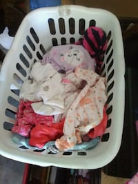 Babygirl clothes mix of sizes, 10 for whole basket Miamisburg, 45342