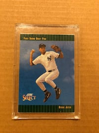First round draft pick score select derek jeter trading card South Windsor, 06074
