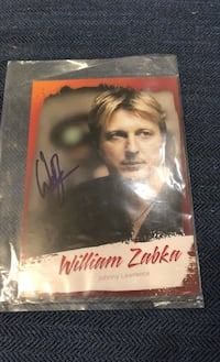 KARATE KID William Zabka Autograph Baltimore, 21227