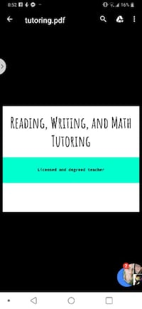 Reading and writing tutor Woodbridge
