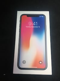 NEW IPHONE X 64GB Alexandria