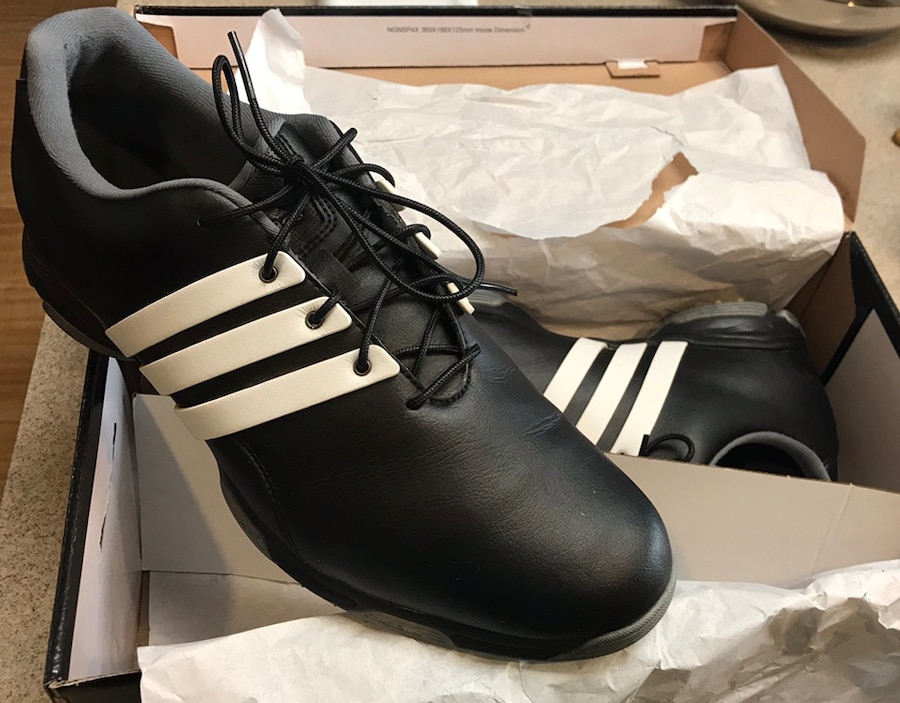 Photo Adidas Pure Trx Golf Shoes Size 11..