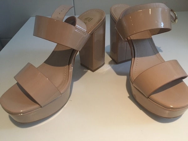 H&M Nude High hells size 36